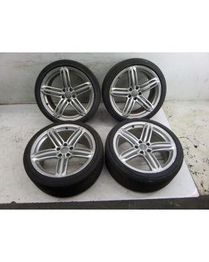 """Audi B8 S5 19"""" Triple Spoke Peeler Wheels 1 Damaged S4 A4 A5 08-17 OEM 8T0601025"""
