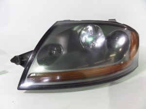 04-05 Audi TT 3.2 Left S-Line Xenon Headlight Assembly Silver Backing MK1