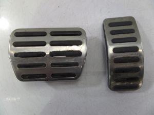 Audi TT Aluminium A/T Pedal Covers Gas Brake MK1 00-05 OEM MK4 VW Golf GTI Jetta
