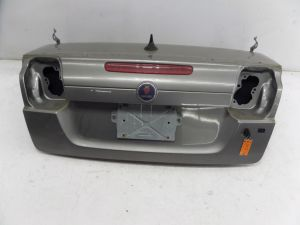 Saab 9-3 Convertible Trunk Lid Hatch Silver OEM Can Ship