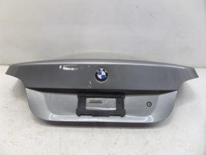 BMW 545i Sedan Trunk Lid Hatch Grey E60 OEM Can Ship