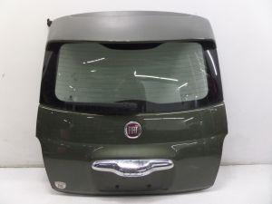 Fiat 500 Trunk Lid Hatch w/ Spoiler Green OEM Can Ship
