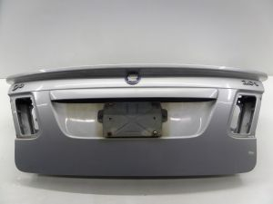 Saab 9-3 Sedan Trunk Lid Hatch Silver MY03 03-07 OEM w/ Spoiler