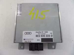05-08 Audi B7 A4 S4 RS4 Harman Becker Amplifier Amp OEM 8E5 035 223 D