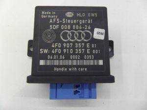05-09 Audi B7 A4 S4 AFS Headlight Range Module OEM 4F0 907 357 E