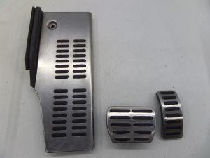 Audi TT AT Aluminium Gas Brake Dead Rest Pedal Covers MK1 VW MK4 Golf GTI Jetta