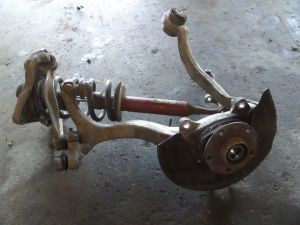 Audi B6 A4 Left Front Knuckle Shock Control Arms Bad Ball Joint 8E0 413 031 BN