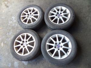 """Saab 9-3 16"""" Set of 4 Wheels OEM 6.5"""" ET 41"""