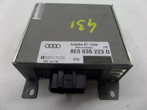 05-08 Audi B7 A4 S4 RS4 Harman Becker Amplifier Amp OEM 8E5 035 223 D #:190