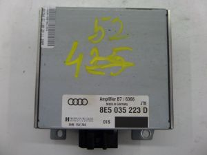05-08 Audi B7 A4 S4 RS4 Harman Becker Amplifier Amp OEM 8E5 035 223 D #:734