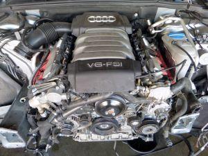 09-11 Audi B8 A4 3.2 CALA Engine Motor 33K Bad Compression LONG BLOCK ONLY
