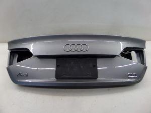 Audi A4 S4 Trunk Lid Hatch Grey B8 09-11 OEM Does Not Incl Reverse Camera