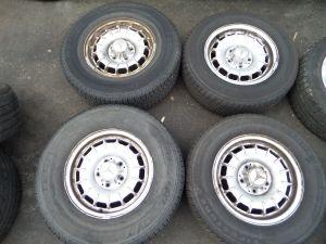 """Mercedes 300D Turbo Diesel 14"""" Wheels W 123 77-85 OEM"""
