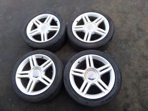 "Audi A4 B6 B7 17"" Wheels & Tires 03-08 OEM 8E0 601 025 AS 5 x 112"