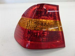 02-05 BMW E46 Sedan Left Quarter Brake Tail Light 328 323 328 330 OEM