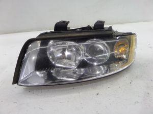 Audi A4 Left Halogen Headlight B6 02-05 OEM