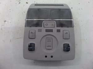 Audi A3 Dome Light Sun Roof Switch Grey 8P 06-08 OEM