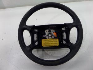 Alfa Romeo Spider 4 Spoke Steering Wheel Series 4 90-93 ClockSpring Leather Worn