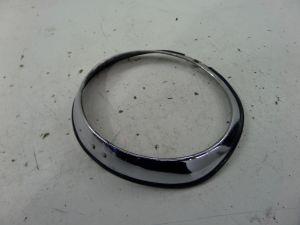 Alfa Romeo Spider Left Headlight Surround Ring Chrome Series 4 90-93 OEM