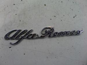 Alfa Romeo Spider Emblem Series 4 90-93 OEM