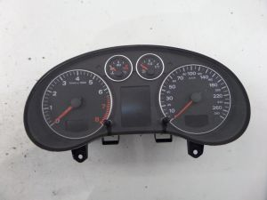 Audi A3 281K KMS KPH] Instrument Cluster Speedo Gauges 8P 06-08 8P0 920 931 B