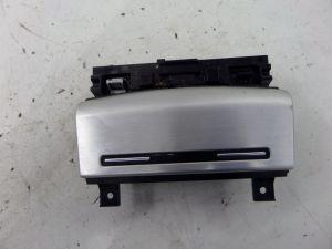 Audi A3 Ash Tray Brushed Aluminum 8P 06-08 OEM 8P0 857 951