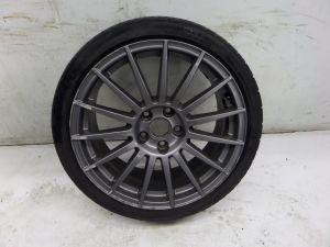 "02-08 Audi A4 S-Line Titanium Package 18"" Single Wheel B6 B7 S4 Grey OEM"