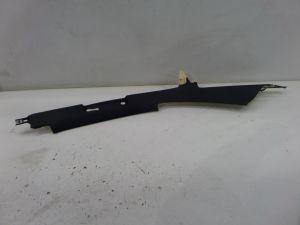 04-08 Audi B6 B7 S4 A4 Right Rear Black Headliner C-Pillar SRS Side Trim OEM
