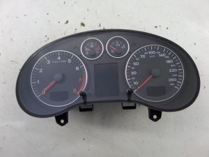 Audi A3 231K KMS KPH Instrument Cluster Speedo Gauges 8P 06-08 OEM 8P0 920 931 J