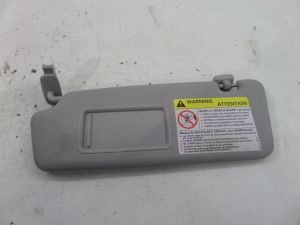 Audi A3 Left Sun Visor Grey 8P 06-13 OEM 8P0 857 551