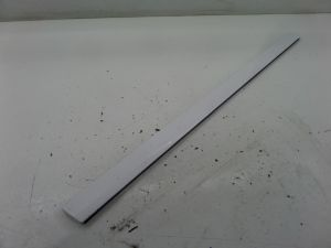 Audi A3 Left Front Lower Door Blade Molding Chipped White 8P 06-13 OEM