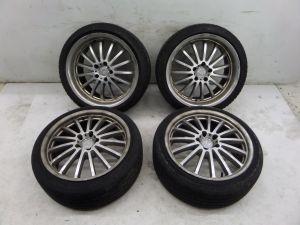 """Mandrus Millenium 18"""" Mercedes Wheels C CL CLS CLK S SL SLK E Class 320 500 AMG"""