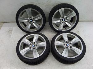 """BMW 335i 328i 18"""" Style 189 Wheels E92 07-10 OEM 6768858 E90 E91 E93 Bad Tires"""