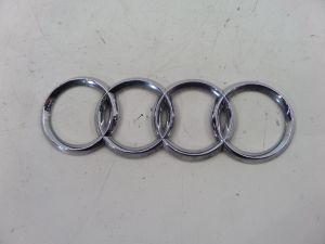 Audi A3 Rear Hatch Emblem 8P 06-08 OEM