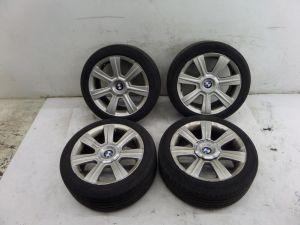 "BMW 330i 17"" Wheels E46 00-06 OEM 6 755 857 Bad Tires"