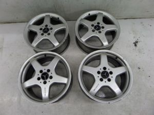 "Mercedes CLK500 17"" AMG Wheels A209 03-09 OEM A 170 401 2802"