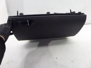 02-08 Audi B6 B7 A4 S4 BLack Glove Box w/ Good Hinges OEM