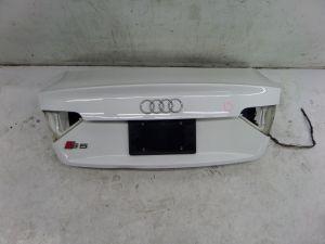Audi S5 Trunk Lid Dented Bottom B8 08-17 OEM A5