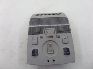Audi A3 Front Dome Light Sunroof Switch Grey 8P 09-13 OEM