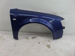 Audi A4 Right Front Fender Blue B6 02-05 OEM