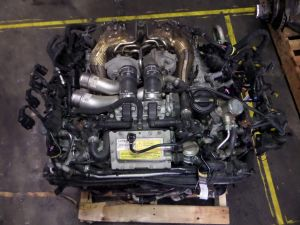 13-15 Audi S6 S7 4.0L Twin Turbo 70K MKU Engine Motor C7 4G Bentley Continental