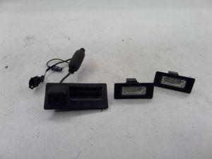 Audi A4 Trunk Lid Mtd Reverse Camera Sedan B8 09-11 OEM