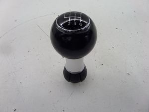Audi A3 6 Speed Ball Shift Knob Black 8P 06-08 OEM