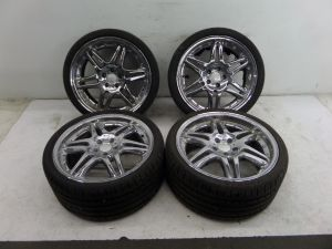 "19"" Chrome Mercedes Wheels 5 x 112 CL CLS E S SL Class"