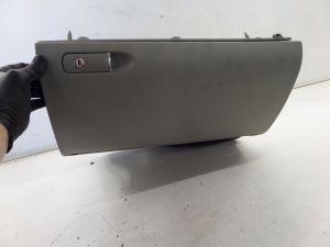 02-08 Audi B6 A4 S4 Grey Glove Box Assy Good Hinges Fits B7 w/o Hole OEM